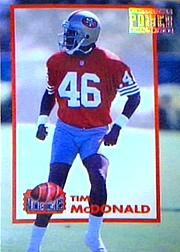 1993 Power Moves Gold #PM27 Tim McDonald