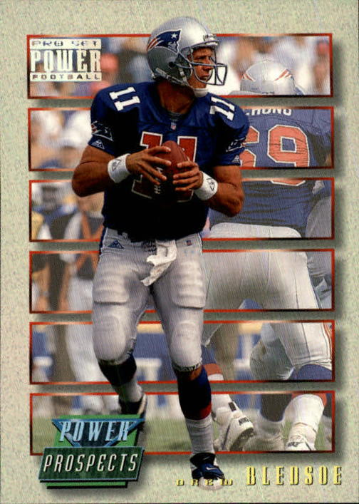 1993 Power Update Prospects #1 Drew Bledsoe RC