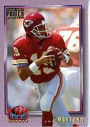 1993 Power Update Moves Gold #10 Joe Montana