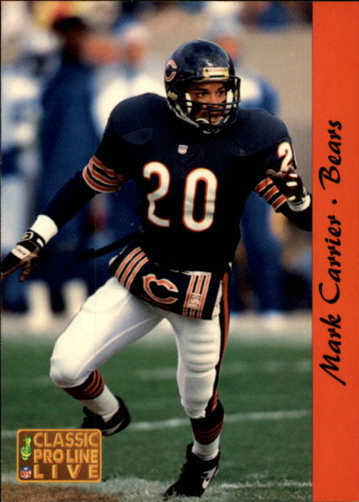 1993 Pro Line Live #24 Mark Carrier DB