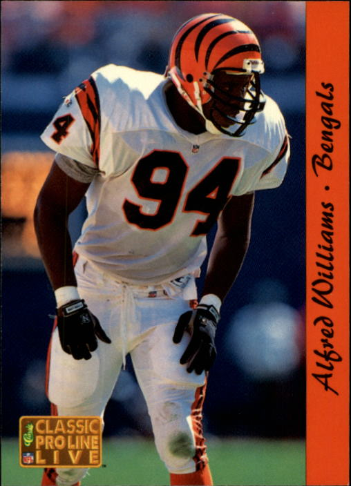 1993 Pro Line Live #37 Alfred Williams