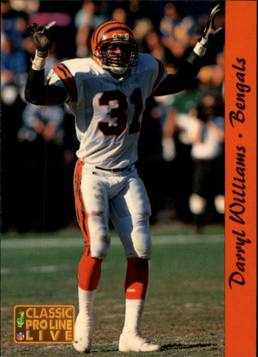 1993 Pro Line Live #38 Darryl Williams