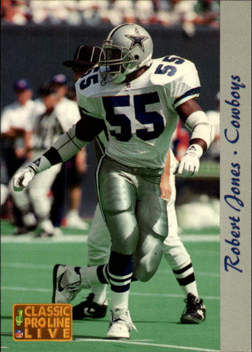 1993 Pro Line Live #57 Robert Jones