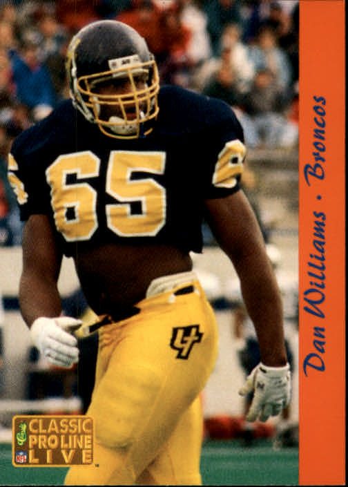 1993 Pro Line Live #74 Dan Williams RC