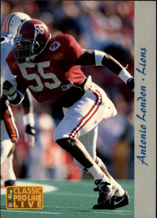 1993 Pro Line Live #85 Antonio London RC