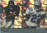 1993 Pro Set College Connections #CC3 E.Smith/N.Anderson
