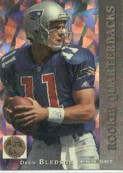 1993 Pro Set Rookie Quarterbacks #RQ1 Drew Bledsoe