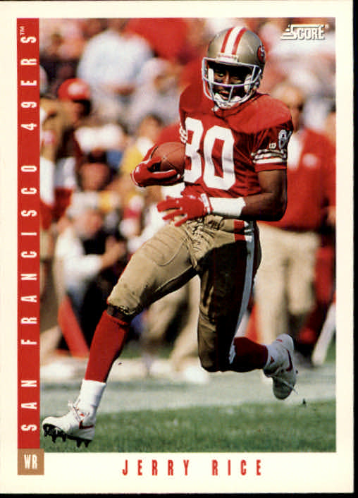 1993 Score #235 Jerry Rice