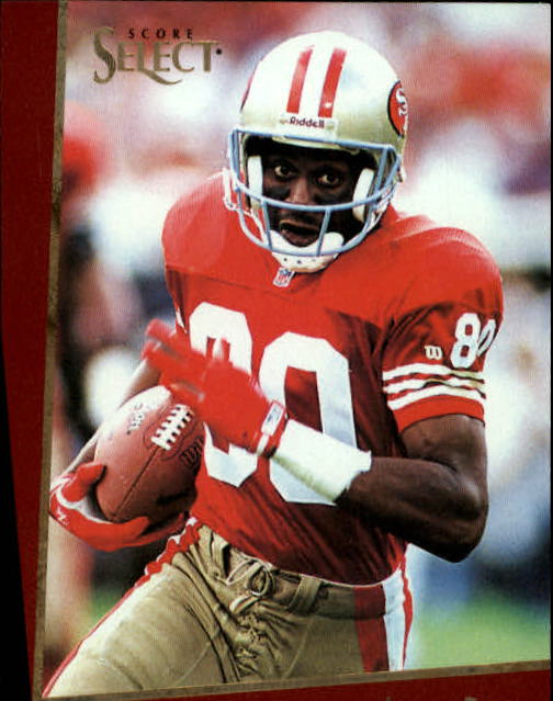 1993 Select #21 Jerry Rice