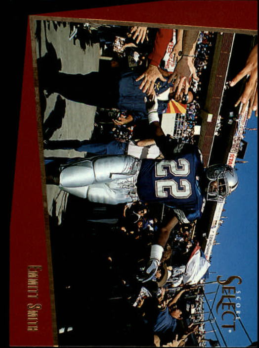 1993 Select #55 Emmitt Smith