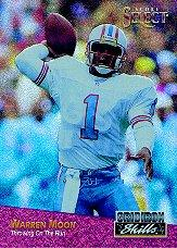 1993 Select Gridiron Skills #1 Warren Moon