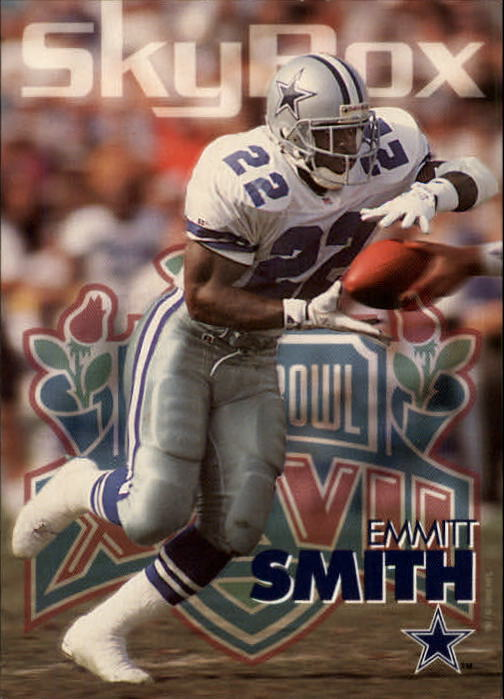 1993 SkyBox Impact #74 Emmitt Smith
