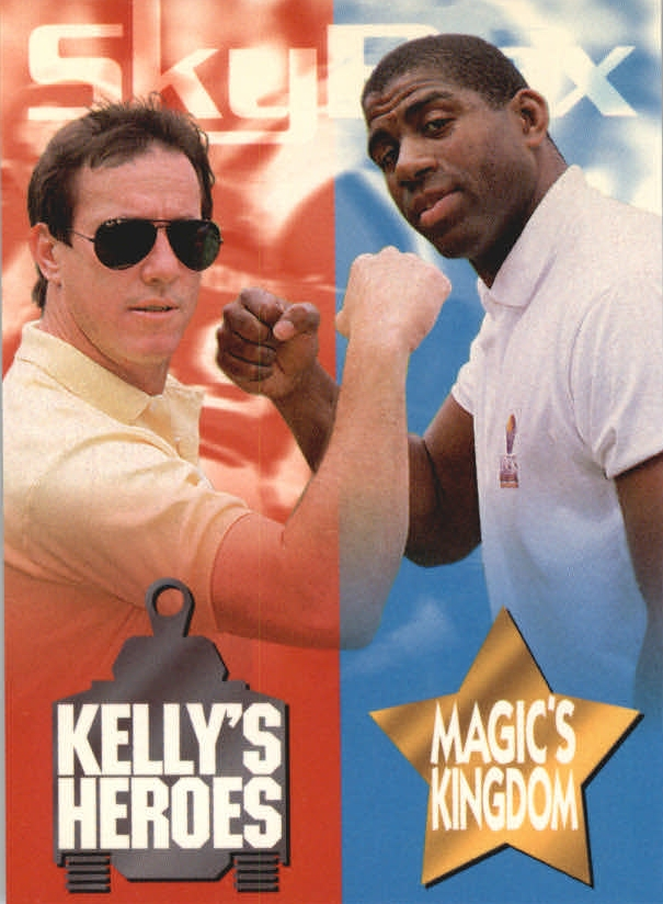 1993 SkyBox Impact Kelly/Magic #1 Mag.Johnson/Kelly Hdr