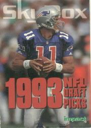 1993 SkyBox Impact Rookie Redemption #R1 Drew Bledsoe CL