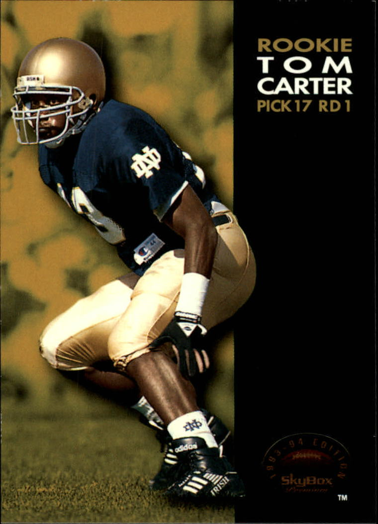 1993 SkyBox Premium #8 Tom Carter RC