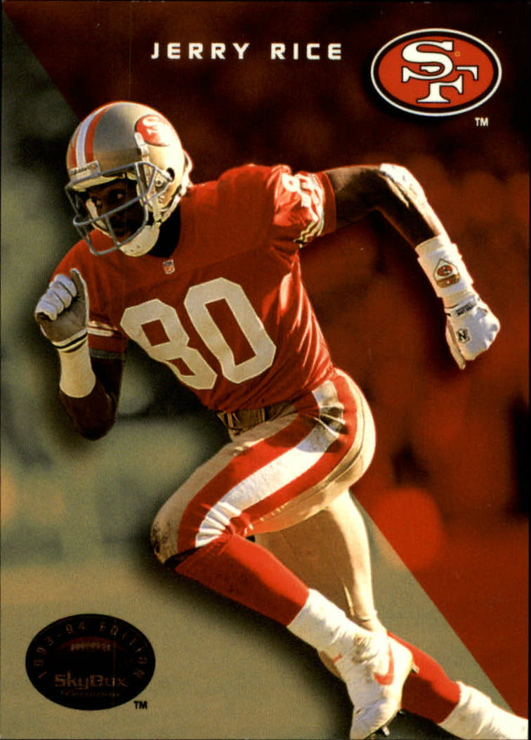 1993 SkyBox Premium #60 Jerry Rice