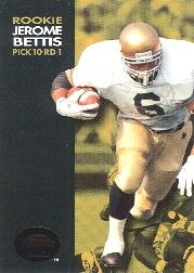 1993 SkyBox Premium #62 Jerome Bettis RC