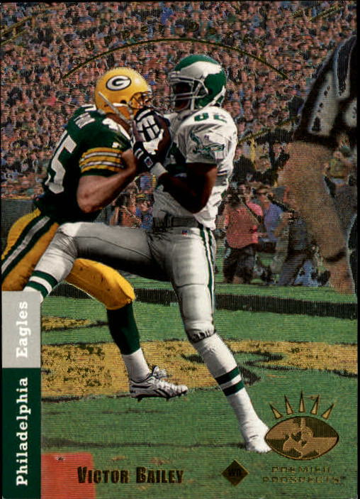 1993 SP #12 Victor Bailey RC
