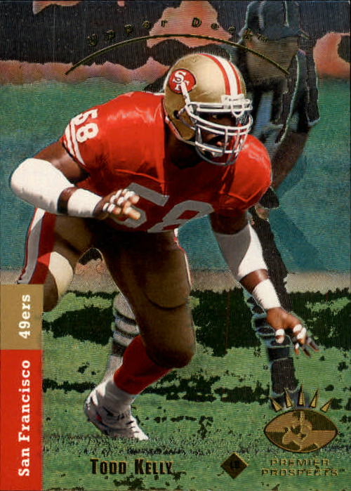 1993 SP #15 Todd Kelly RC