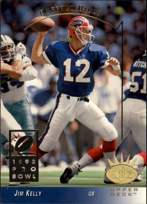 1993 SP #31 Jim Kelly