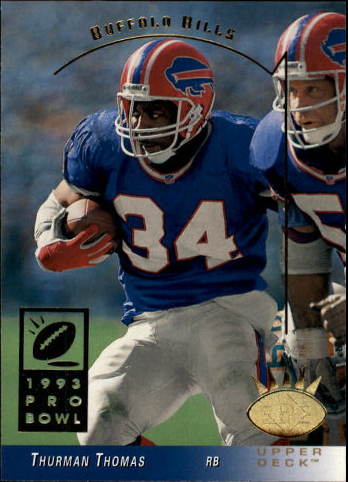 1993 SP #36 Thurman Thomas