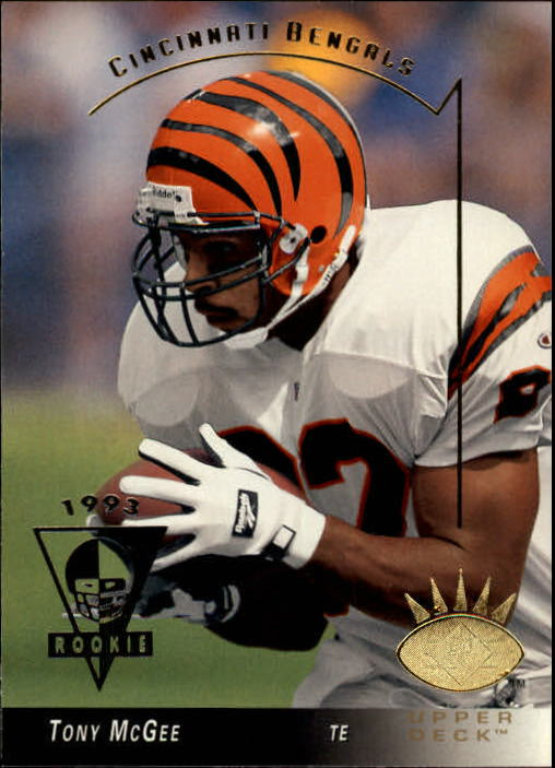 1993 SP #50 Tony McGee RC