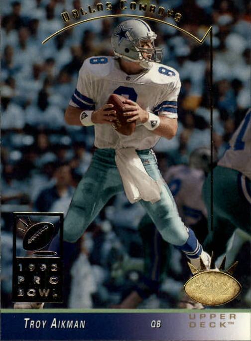 1993 SP #64 Troy Aikman