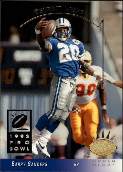 1993 SP #88 Barry Sanders