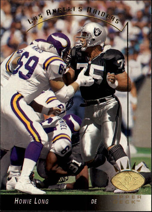 1993 SP #132 Howie Long front image