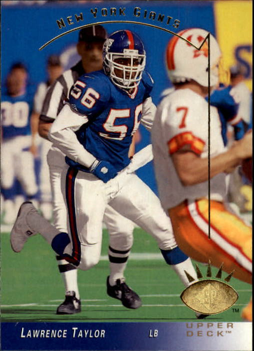 1993 SP #189 Lawrence Taylor