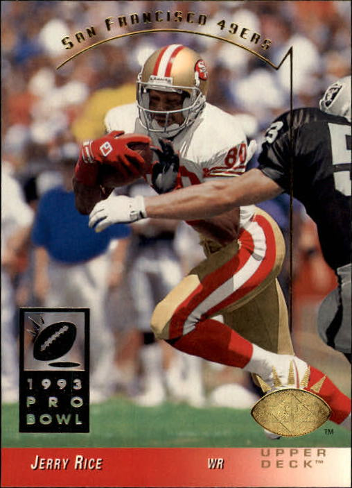 1993 SP #240 Jerry Rice