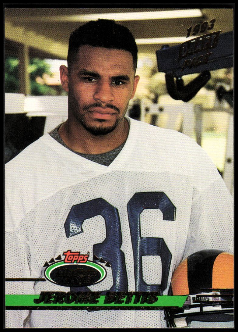 1993 Stadium Club #108 Jerome Bettis RC