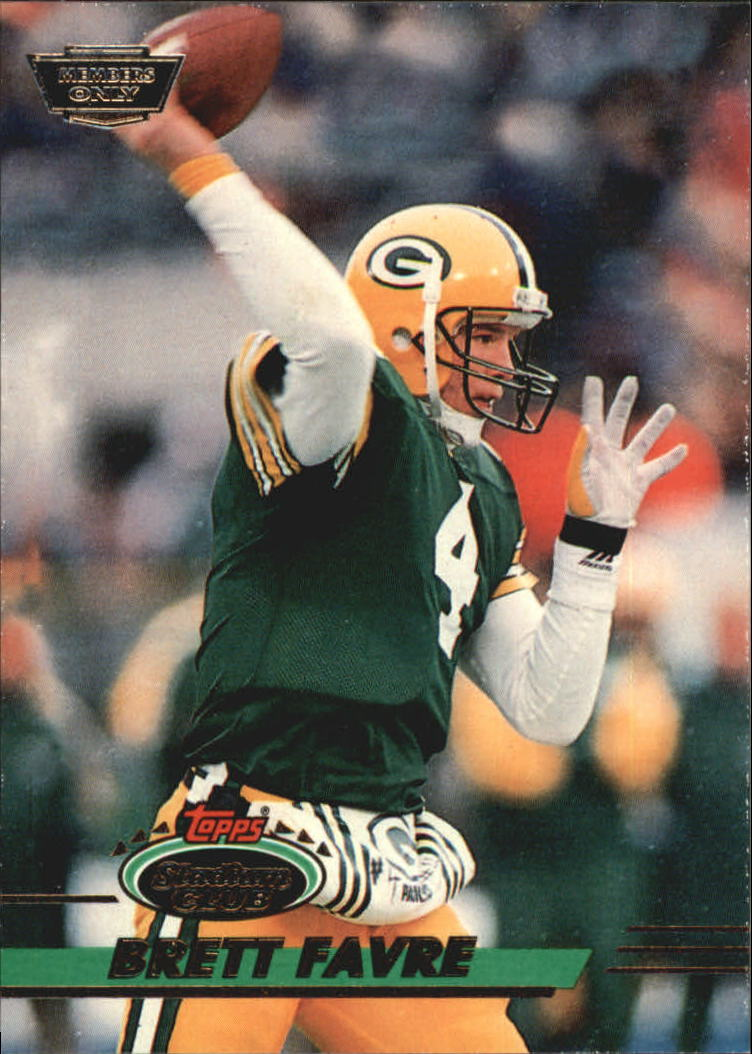 1993 Stadium Club #210 Brett Favre