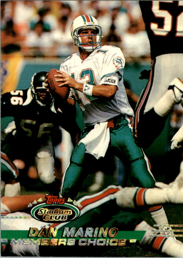 1993 Stadium Club #246 Dan Marino MC