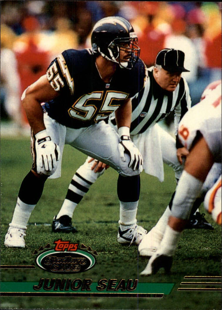 1993 Stadium Club #320 Junior Seau