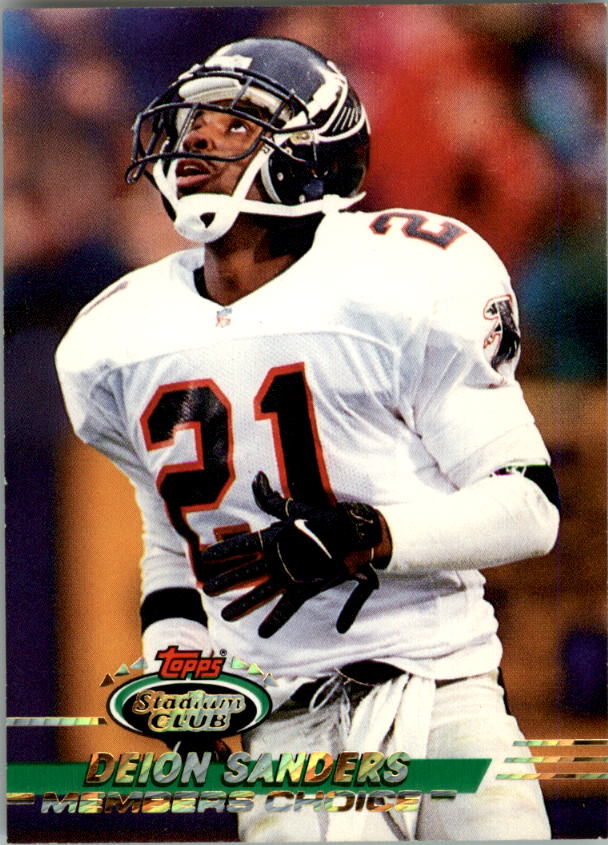 1993 Stadium Club #493 Deion Sanders MC