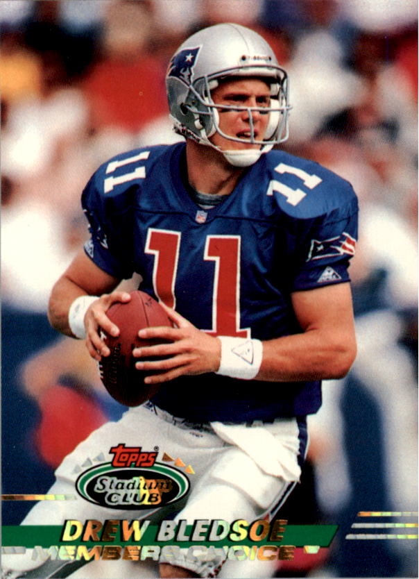 1993 Stadium Club #504 Drew Bledsoe MC