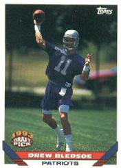 1993 Topps #130 Drew Bledsoe RC