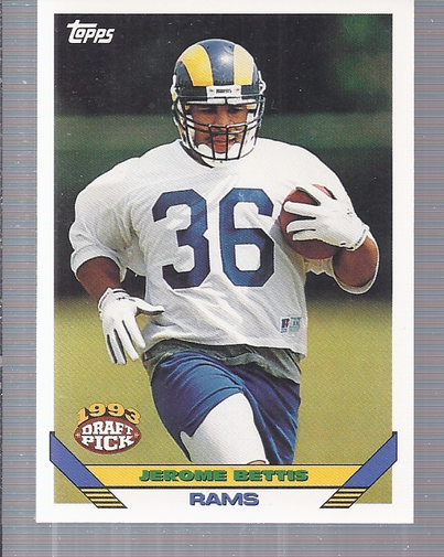 1993 Topps #604 Jerome Bettis