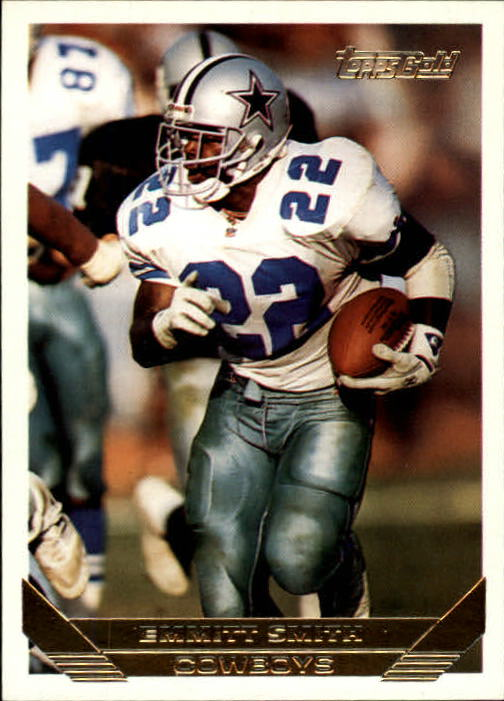 1993 Topps Gold #120 Emmitt Smith