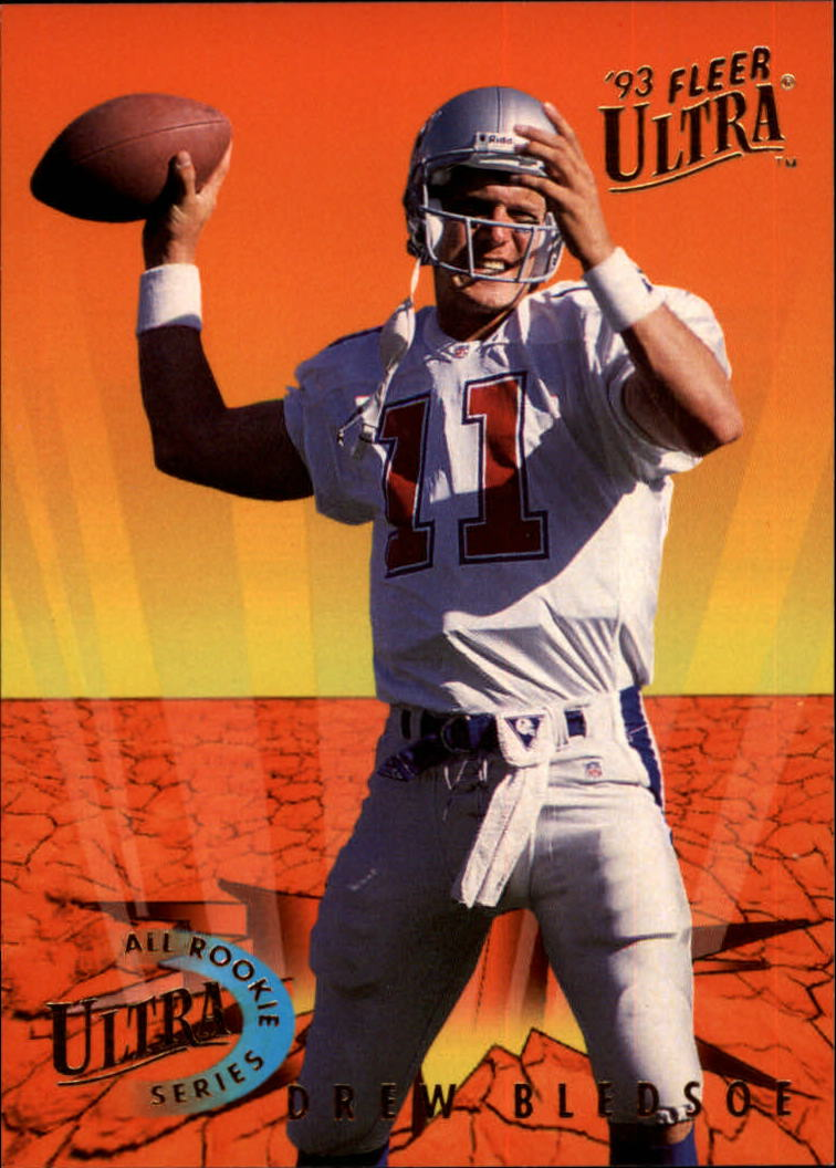 1993 Ultra All-Rookies #3 Drew Bledsoe