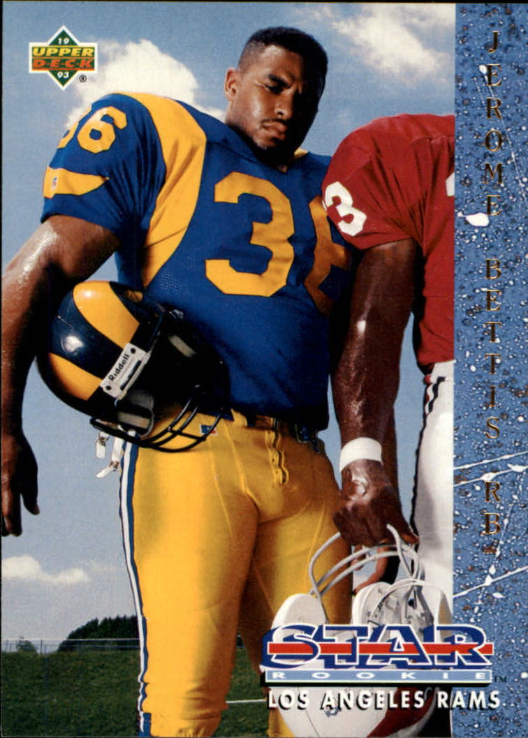 1993 Upper Deck #20 Jerome Bettis RC