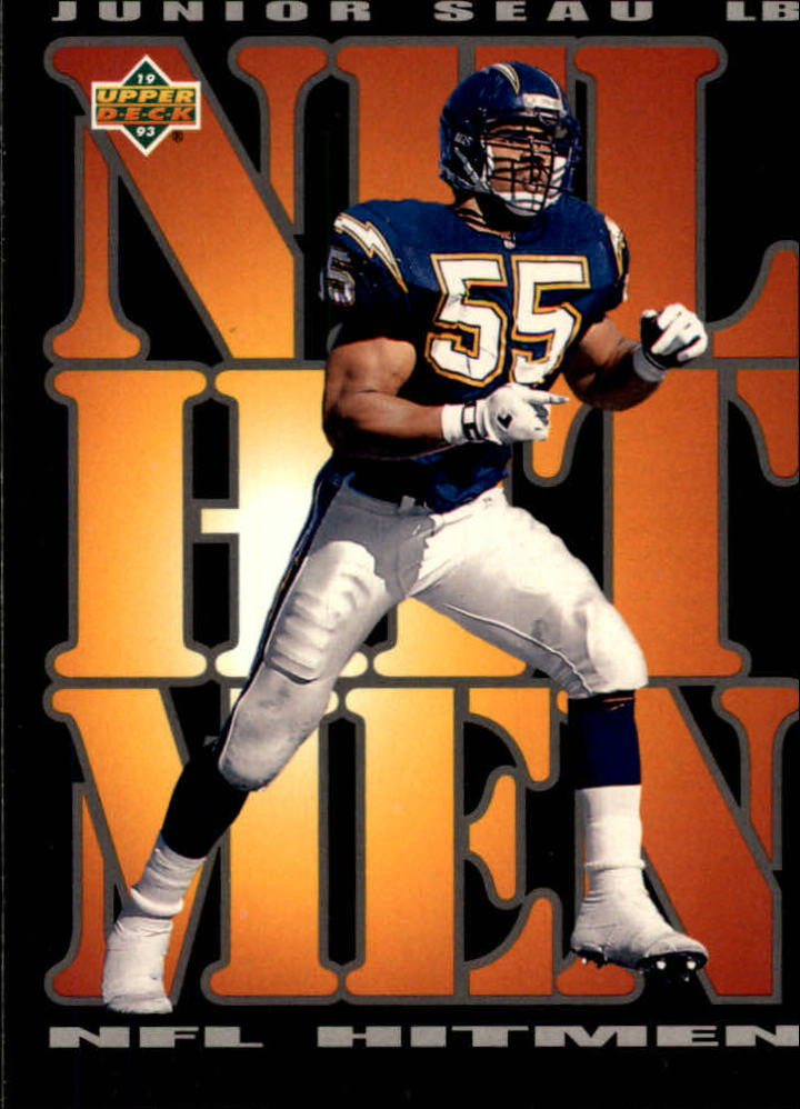 1993 Upper Deck #57 Junior Seau HIT