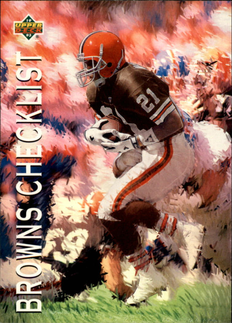 1993 Upper Deck #67 Eric Metcalf TC