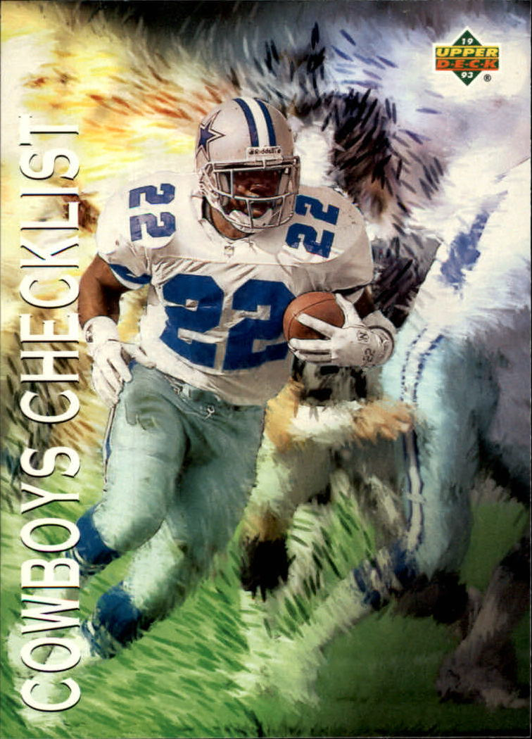 1993 Upper Deck #73 Emmitt Smith TC