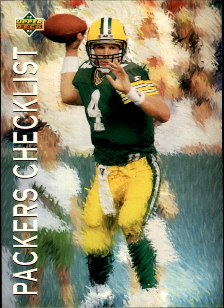 1993 Upper Deck #82 Brett Favre TC