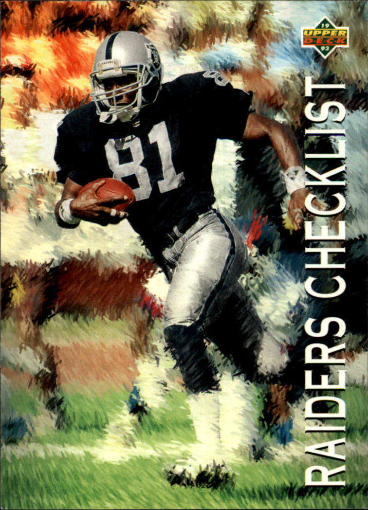 1993 Upper Deck #84 Tim Brown TC