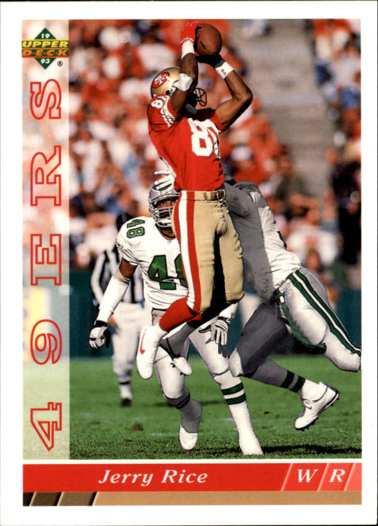 1993 Upper Deck #241 Jerry Rice