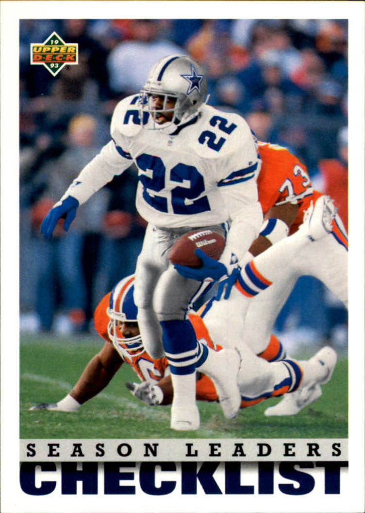 1993 Upper Deck #431 Emmitt Smith CL