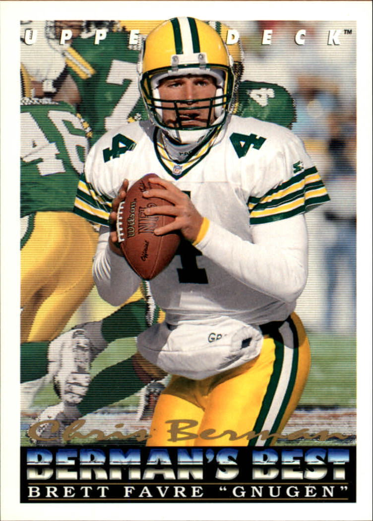 1993 Upper Deck #439 Brett Favre BB